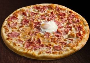 13179576-pizza-o-sole-mio-with-baked-egg-and-ham-isolated